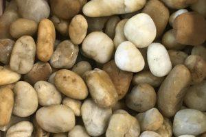 Gludinti akmenukai 2-4cm, marmuras, gintariniai