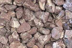 Gludinti akmenukai Rouge Royal 1525mm, marmuras