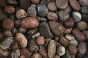 Gludinti akmenukai, marmuras, bordo